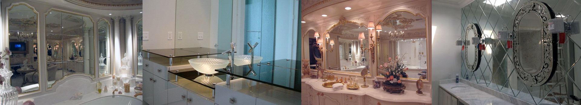 custom mirror fabrication and installation in dallas, texas